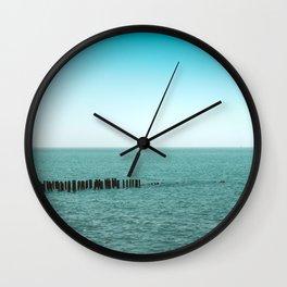 Nature photo - horizon Wall Clock