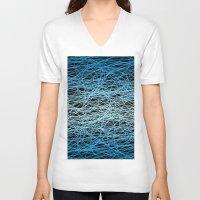 infinity V-neck T-shirts featuring Infinity by Joynisha Sumpter