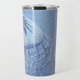 Blue Jellyfish Underwater Magic Travel Mug