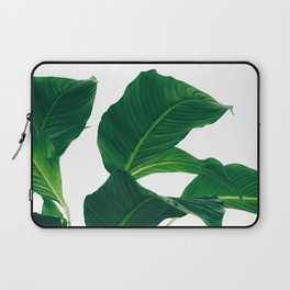 Green Leafs (Color) Laptop Sleeve