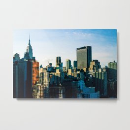 Burning in Hell's Kitchen Metal Print
