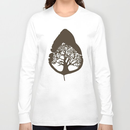 Tree leaf Long Sleeve T-shirt