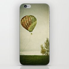 letting go iPhone Skin