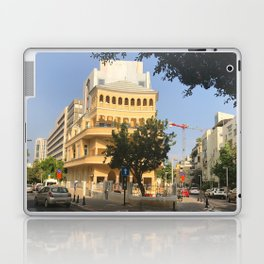 Tel Aviv Pagoda House - Israel Laptop & iPad Skin