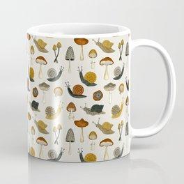 mushrooms & snails Coffee Mug