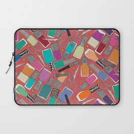perfect nails pomegranate red Laptop Sleeve