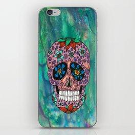 Bright Skull iPhone Skin