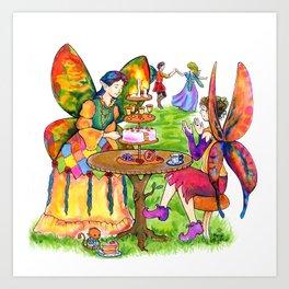 Fairy Party Art Print