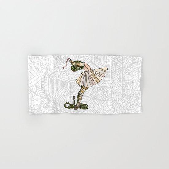 Snake Ballerina Tutu Hand & Bath Towel
