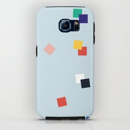 Here and Square Pattern iPhone Case