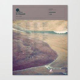 The Visual Mixtape 2010 | Actor | 24 / 25 Canvas Print