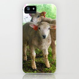 Two small helpers iPhone Case
