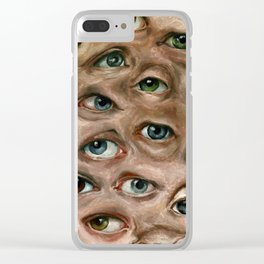 Argus Panoptes Clear iPhone Case