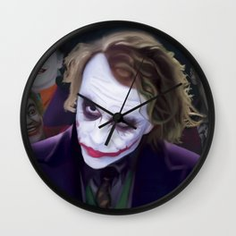 The Jokers Wall Clock