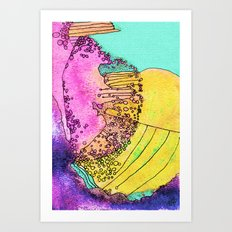 Frantic Art Print