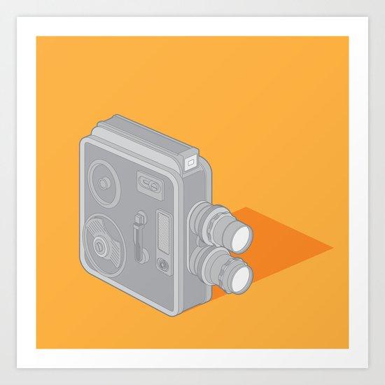 Meopta Camera Art Print