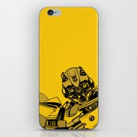 transformers iPhone & iPod Skins featuring Transformers: Bumblebee by Skullmuffins