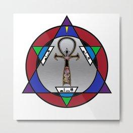 D3T Logo Metal Print