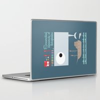moby dick Laptop & iPad Skins featuring Essential of fairy tales (Moby-dick) by Seez