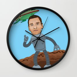 Michael Fassbender Wall Clock