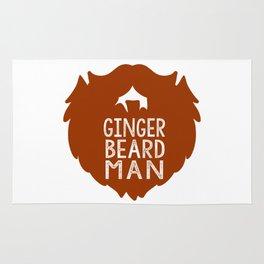 GINGER BEARD MAN Rug