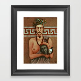 Medusa's Tears Framed Art Print