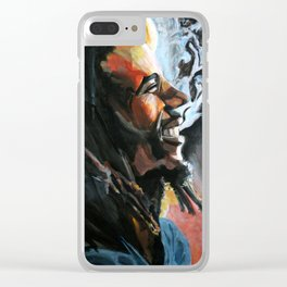Marley Vibes Clear iPhone Case