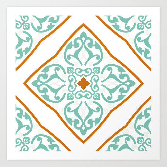Boho Mandala II Art Print