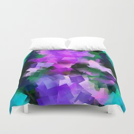 Lily cubistically Duvet Cover