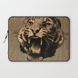 Vintage Tiger Laptop Sleeve