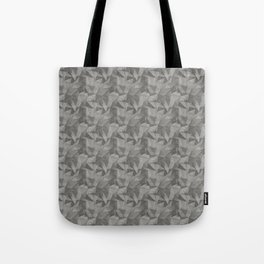 Abstract Geometrical Triangle Patterns 2 Benjamin Moore 2019 Trending Color Kendall Charcoal Gray HC Tote Bag
