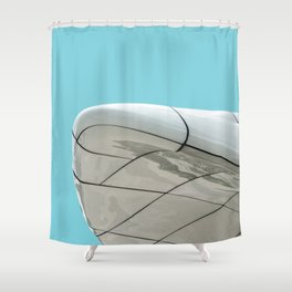 Minimalist Architecture in Innsbruck Shower Curtain