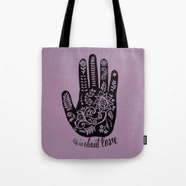 Life and Love Tote Bag