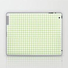 Green Houndstooth Pattern Laptop & iPad Skin