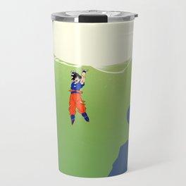 Believe in Goku Travel Mug
