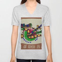 Quetzalcoatl II Unisex V-Neck