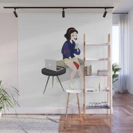 Blogger Snow White Wall Mural