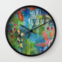 Be Love Wall Clock