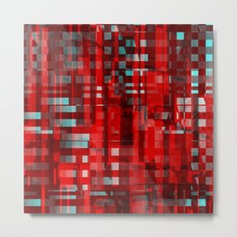 red city. det Metal Print