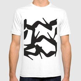 Shoe Fetish (Version 2) High Heel Shoe Art T-shirt