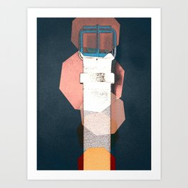 JETSON'S BELT N12 Art Print