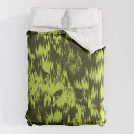 Abstract Grass Comforters