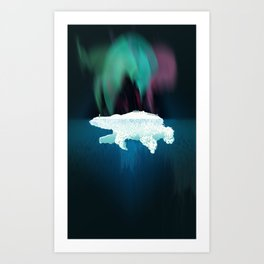 Polar Ice Art Print