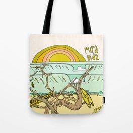 pura vida surf stoke in costa rica Tote Bag