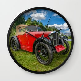 Arriving In Style Wall Clock