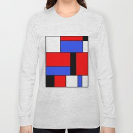Mondrian #51 Long Sleeve T-shirt