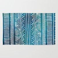 hippie Area & Throw Rugs featuring Hippie Pattern by InfinityDesignCo.