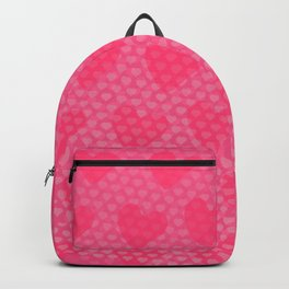 Pink Designer Princess Heart Backpack