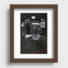 Hobo Wizard: Parts of the Whole, Hobo Wizard. Recessed Framed Print