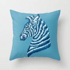 SEAbra Throw Pillow
